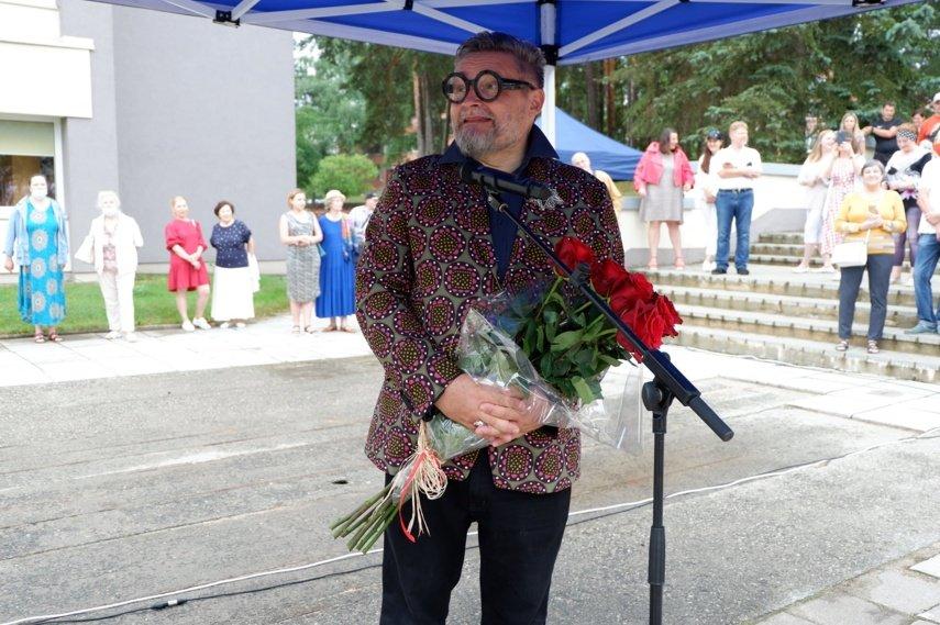 Visagine – neįtikėtino gyventojų susidomėjimo sulaukusi A. Vasiljevo fondo paroda