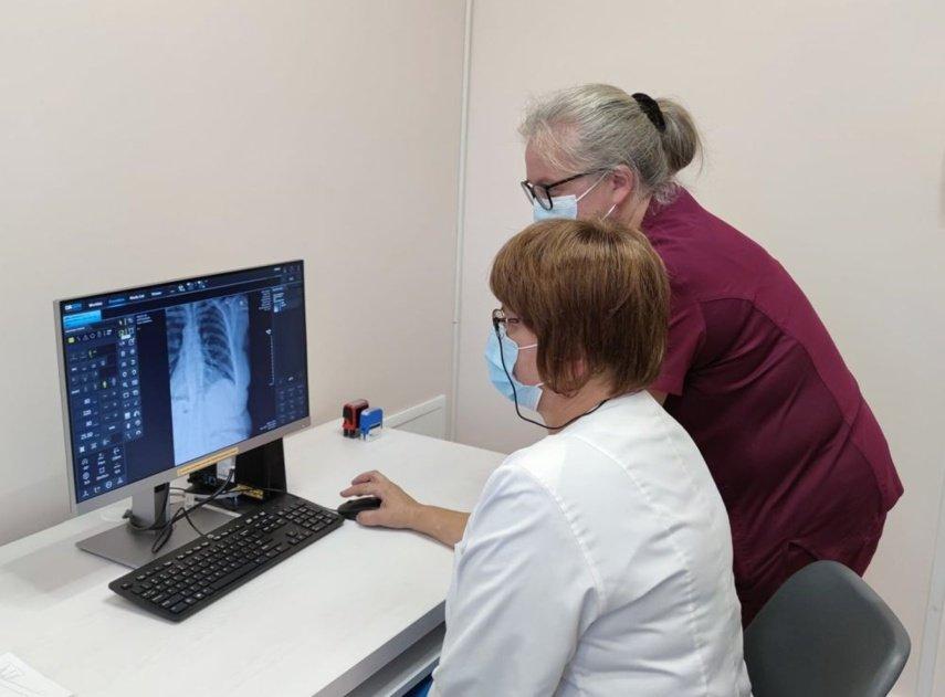 Pabradėje – naujas rentgeno aparatas
