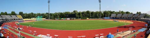 Kauno futbolo mokyklos laukia permainos: statys kupolą stadionui