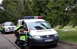 Visą balandį - intensyvios Kauno apskrities pareigūnų pratybos (Video)