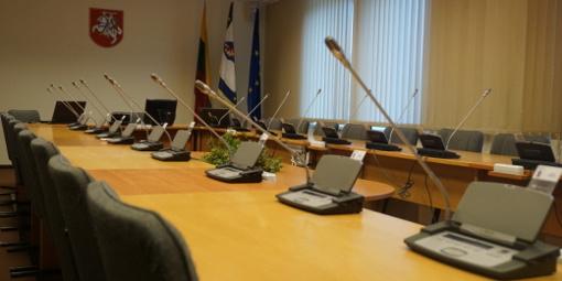 Vyks Kretingos rajono savivaldybės tarybos posėdis