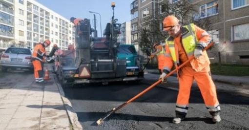 Vilniuje šiemet bus atnaujinta dar 460 kiemų