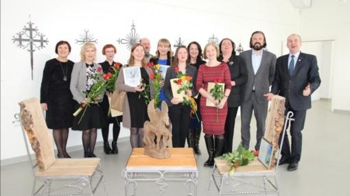 Ukmergėje apdovanoti kūrėjai ir kultūros darbuotojai