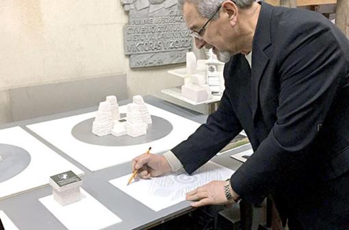 Inicijuotas susitikimas su skulptoriumi, Radviliškio krašto garbės piliečiu, profesoriumi Stasiu Žirguliu