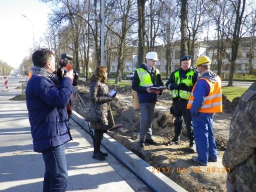 Statybvietes tikrino darbo ispektoriai ir policija: rezultatai nuvylė