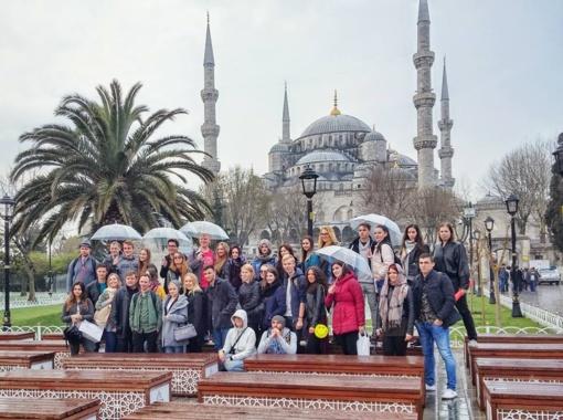 "Erasmus+ programos projektas ""Europe: home that we want""..."