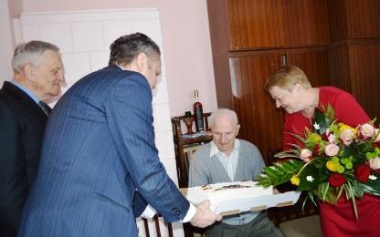 Palangiškiui Jurgiui Kuzmickiui – Savivaldybės atstovų sveikinimai