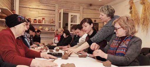 Trakų krašto kultūros darbuotojai sėmėsi patirties Žemaitijoje
