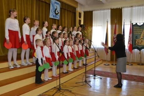 Panemunės pagrindinėje mokykloje – tradicinis dainų festivalis