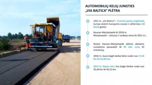 """Magistralė """"Via Baltica"""" 2021 metais bus gerokai saugesnė"""