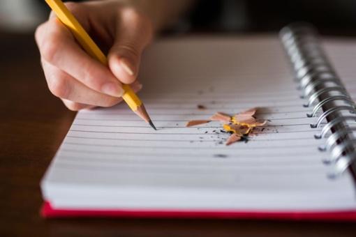 Abiturientai laiko valstybinį anglų kalbos egzaminą