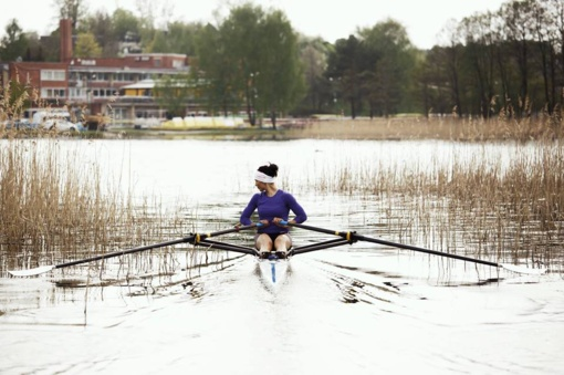 Irkluotoja D. Karalienė stabdo sportinę karjerą