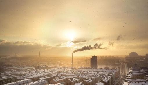 Prasidėjus šildymo sezonui ypač padidėjo oro užterštumas miestuose