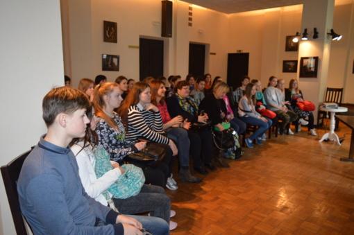 Pažintinis seminaras Valstybiniame Šiaulių dramos teatre