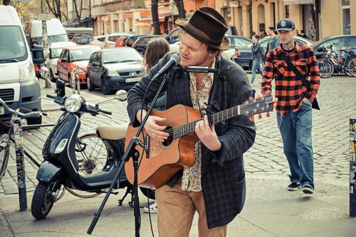 Panevėžio jaunimas kviečia į Gatvės muzikos dieną