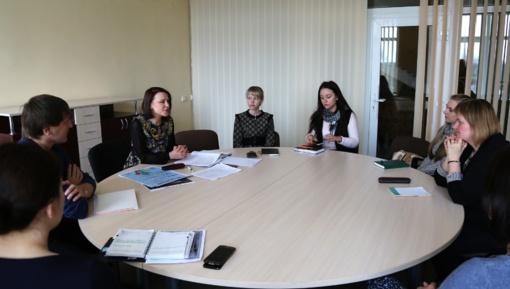 Jaunimo reikalų tarybai prisistatė naujoji jaunimo koordinatorė