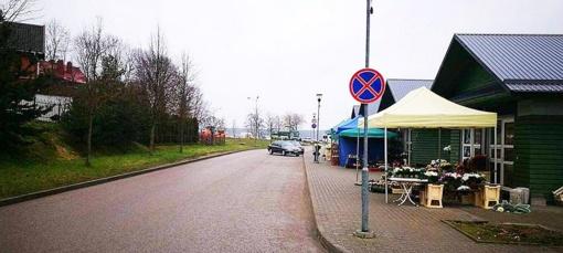 Keičiasi automobilių eismo kryptis Trakų Vilniaus Mažojoje gatvėje