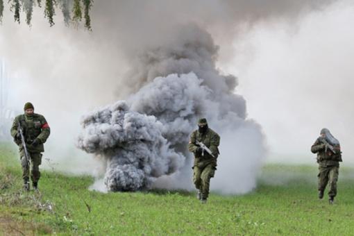 Balandžio 25-28 d. Ukmergės rajone vyks karių lauko pratybos