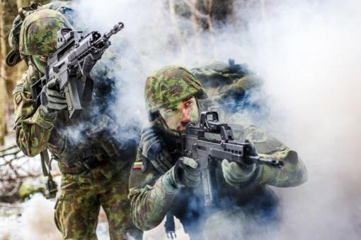 Vyks Lietuvos kariuomenės pratybos