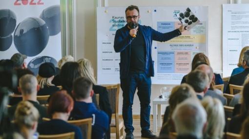 """""""Kaunas 2022"""" komanda pristatė šių metų darbus"""