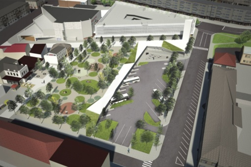 Savivaldybė nagrinėja verslo siūlymą investuoti į naują autobusų stotį
