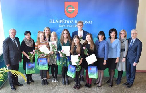 Gargždiškiai – Lietuvos mokinių meninio skaitymo konkurso laureatai