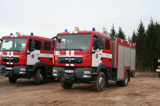 Skuodo priešgaisrinėje gelbėjimo tarnyboje – atvirų durų diena