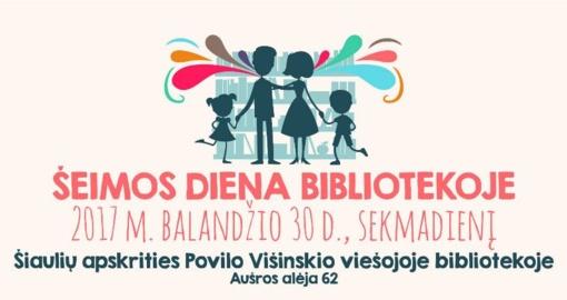 Sekmadienį – su šeima į biblioteką