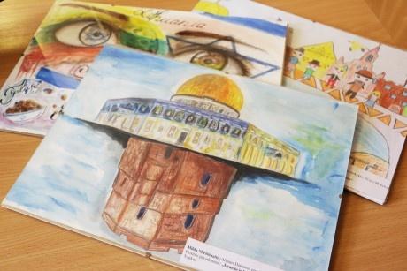 Izraelį ir Lietuvą piešusių mokinių darbai iškeliauja į nacionalinę parodą