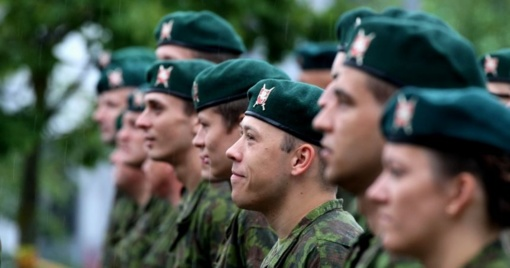 Kęstučio batalionas išlydės 400 tarnybą baigusių šauktinių