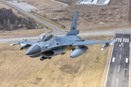 Nyderlandų karinių oro pajėgų karius pakeis Lenkijos kariai