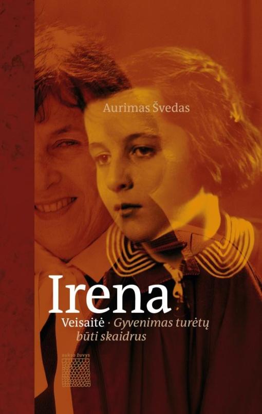 """Aurimo Švedo knygos """"Irena Veisaitė. Gyvenimas turėtų būti skaidrus""""sutiktuvės"""