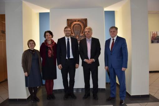 Utenoje lankėsi socialinės apsaugos ir darbo ministras Linas Kukuraitis