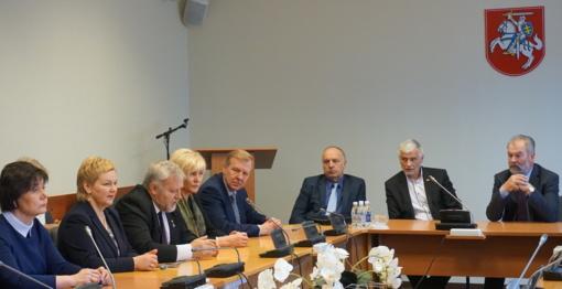 Kretingoje lankėsi žemės ūkio ministras Bronius Markauskas