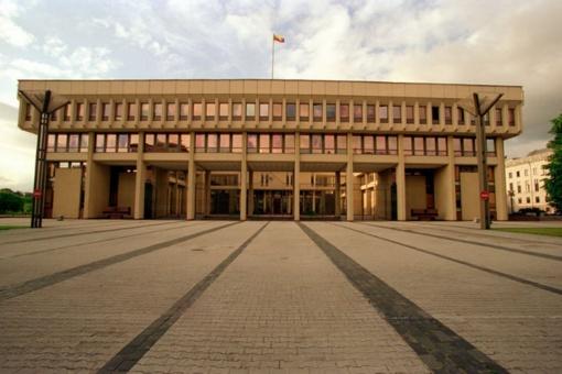 Seimo statute siūloma įteisinti dar vieną Seimo vicepirmininko pareigybę