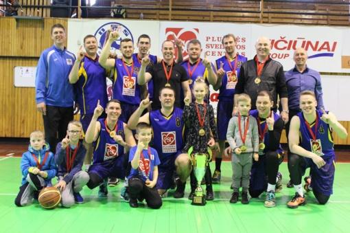 Krepšinio pirmenybių nugalėtojai - PSC