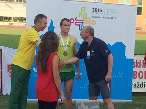 Plungiškis Modestas Grauslys atstovaus Lietuvai pasaulio neįgaliųjų lengvosios atletikos čempionate