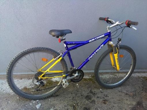 Ieškomas Kelmėje rasto dviračio savininkas