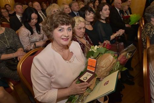 Vilniaus rajono centrinės poliklinikos slaugytojai - garbingas apdovanojimas
