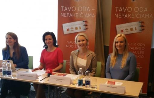 Viceministrė A. Bilotienė Motiejūnienė: odos vėžiu suserga vis daugiau žmonių