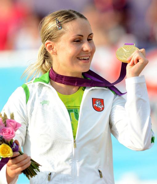 Pasaulio taurės III etape – ir Laura Asadauskaitė, ir Justinas Kinderis