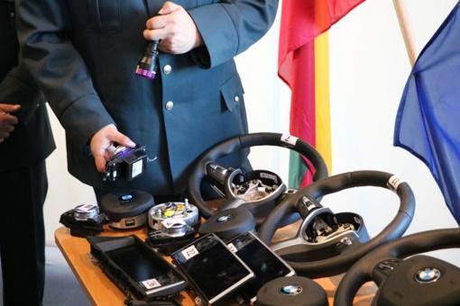 Naujausias technologijas ieškant vogtų detalių taikys ir Kauno apskrities policijos pareigūnai