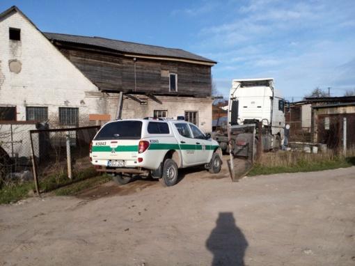 Kauno rajone aptikta nelegali degalinė