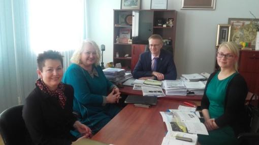 Kaišiadorių rajono savivaldybėje lankėsi Kauno prekybos, pramonės ir amatų rūmų atstovai