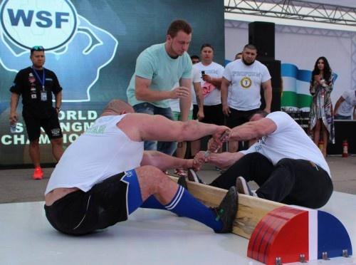 A. Abrutis Kazachstane iškovojo pasaulio lazdos traukimo taurės varžybų sidabrą