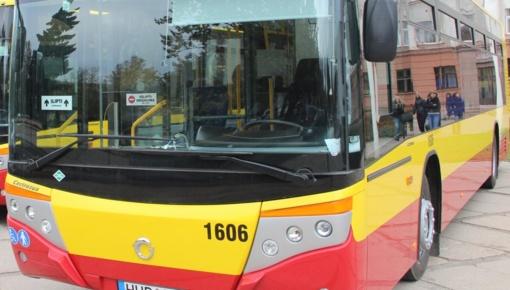 Savaitgalį tarp kapinių - papildomas autobusas