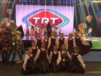 Eglės baleto studija dalyvavo tarptautiniame festivalyje Turkijoje
