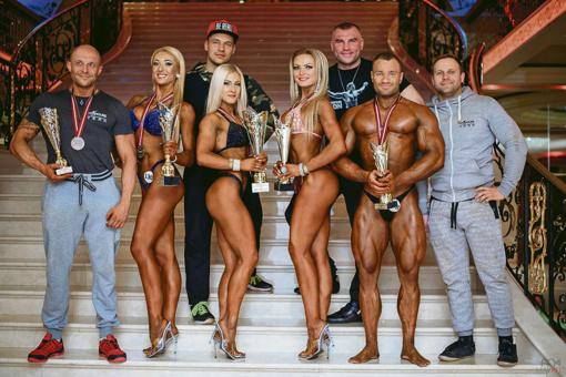 Kultūristų laimėjimai Lietuvos ir Latvijos čempionatuose