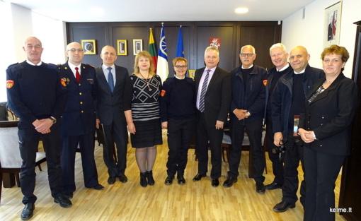 Savivaldybėje lankėsi ugniagesiai savanoriai iš Nyderlandų