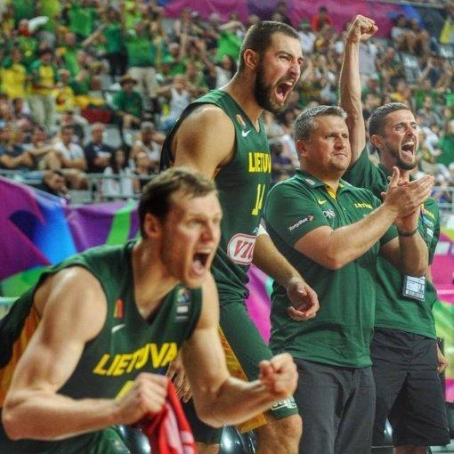 Paaiškėjo pirmieji Lietuvos krepšinio rinktinės varžovai pasaulio čempionato atrankoje